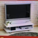 テレビボード 白
