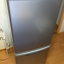 Panasonic パナソニック 2ドア冷蔵庫      138L...