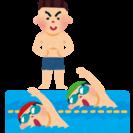 泳ぎの苦手な子供の個人レッスン