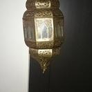 モロッコで買ったランプシェード