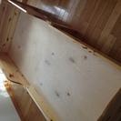 フィンランド製 木製子供用ベッド