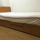 お値引き シングルベッド+マットレス