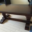 天然木製 ローテーブル 組み立て式 中古美品 引き取りに来られる方...