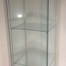 【取引終了】IKEA DETOLF ディスプレイ ケース ガラス