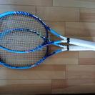 中古硬式テニスラケット 2本