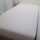 無印良品 シングルベッド マットレス脚付き 良品