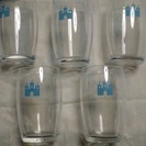 小さめの強化ガラスコップ(未使用)