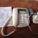 値下げSHARP電話機子機つき  説明書付き