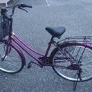 (決定〆)新品同様 自転車26型オートライト 変速7段