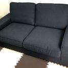 使用期間1年  IKEA2人掛けソファ KIVIK