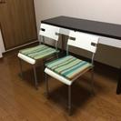 【美品】IKEA パイプチェア 2脚