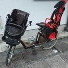 3人乗り 子供乗せ自転車 ブリヂストン アンジェリーノ 後部チャイ...