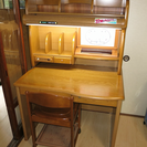 【美品】値下げ!イトーキ☆学習机椅子付き