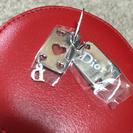 Dior ピアス トランプ クリスチャンディオール