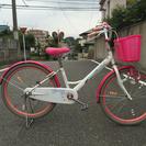 女の子用自転車 可愛い! 24インチ 5000円