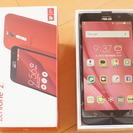 送料込み☆SIMフリー携帯 zenfone2 (2GB)レッド