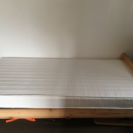再募集!無印良品 パイル材シングルベッド