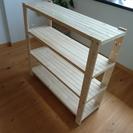 【無料で差し上げます】木製 棚