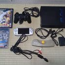 PS2  PSP  本体 ソフト  多数 中古 セット