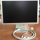 apple純正Cinema Display. 17inch