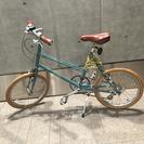 サイクリングの秋 ブルーノミニベロ
