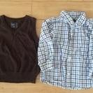 H&M シャツ ベスト コムサ シャツ