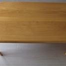 ローテーブル、平机 〔あし折りたたみ〕