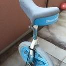水色 一輪車