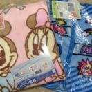 ディズニー ベビー毛布&ミニかいまき毛布セット