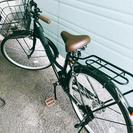 自転車 ママチャリ 美品 26インチ 6段階ギア