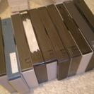 無料 VHSテープ17本