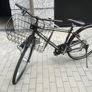 自転車 (クロスバイク) 27インチ  6段ギア 自動LEDライト