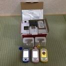 キッズ携帯 3台 ブルー/イエロー/ピンク