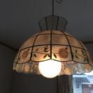 カスピ貝シェードのペンダント照明(1灯式)