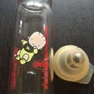哺乳瓶+乳首ゴム