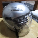 ジェットヘルメット シルバー 美品 59~60サイズ 箱説明書付き