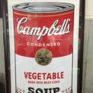 アンディウォーホルの絵画「キャンベルスープ」「エリザベステーラー」...