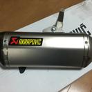 KTM 390 DUKE アクラポビッチ マフラー