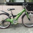 22インチジュニアマウンテンバイク パナソニック Rider Jr...