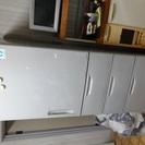 冷蔵庫415L。&米びつラック【無料】セットで差し上げます。9/2...