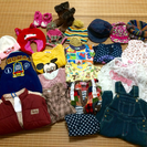 子供秋冬服・帽子・ブーツ・手袋など