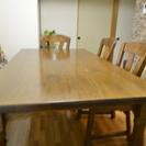テーブル+椅子(3脚のみ)**引取り限定**