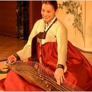 韓国伝統楽器教えます。カヤグム・チャング、少人数レッスンです。