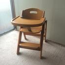 お譲り先決まりました。 子供用 折りたたみ式 食事椅子 ハイチェア