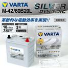 M-42/60B20L VARTA 国産車用 バッテリー 新品 税別価格
