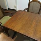 ダイニングテーブル&チェア2台