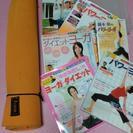 ヨガマット💕&DVD付本×6冊(錦本彰)