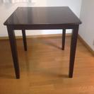 ダイニングテーブル 茶色