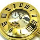 【新古品、値下げしました】ロイヤルポロ 懐中時計 説明書、箱等全て...