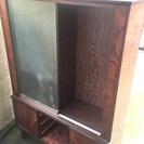無料 綺麗な木製本棚です 引き取り限定